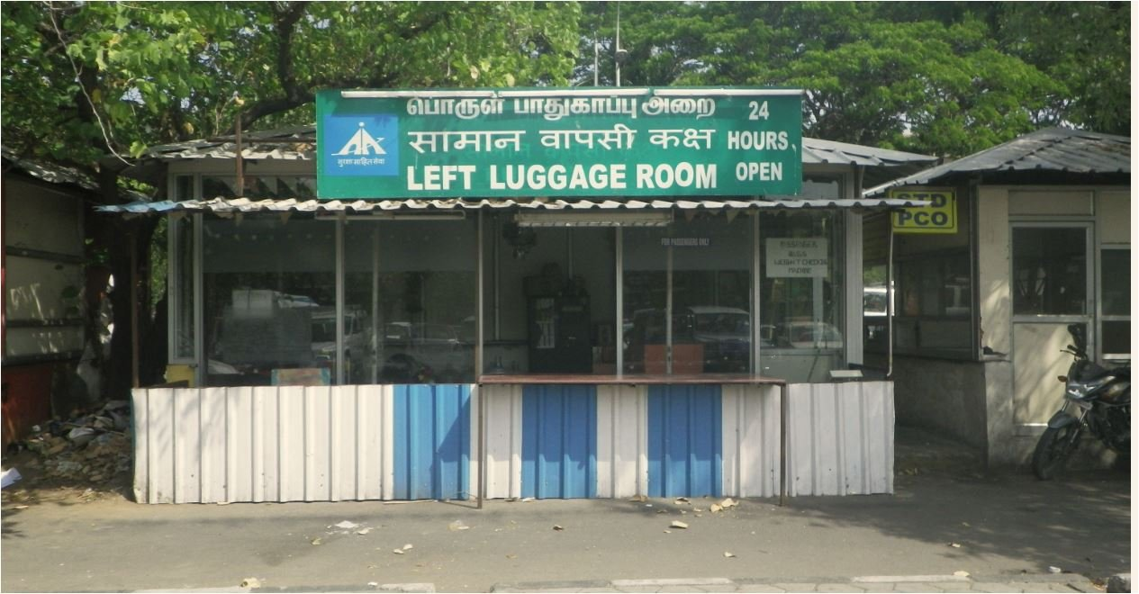 left luggage building